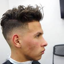 razor cut hairstyle with spiky on top 60 new haircuts for men