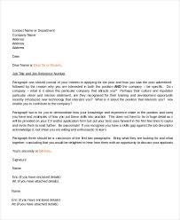 latest cover letter format cover letter template 9 free word pdf documents download