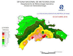 Rainfall Totals Map Hurricane Matthew Causes Deaths In Haiti And Dominican Republic