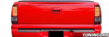 2006 silverado tail light assembly 2003 2006 chevy silverado pickup truck led tail lights by protuninglab