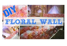 floral tissue paper diy wedding flower wall centerpiece how to tissue paper pom