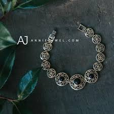 girls bracelet silver images Silver bracelets vintage beaded chain boho bracelet gift jewelry jpg