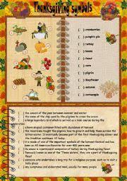 thanksgiving set 4 the symbols of thanksgiving key reuploaded