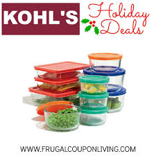black friday kohls 2014 black friday pyrex sale set for 13 79 from 70