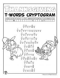 thanksgiving word puzzles woo jr activities