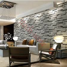 modern 3d simulat room faux brick wallpapers wall papers home