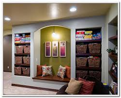 finished basement storage ideas photo of well images about