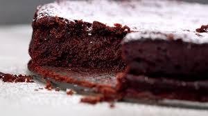 flourless chocolate cake recipe real simple