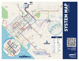 Santa Monica Map Tap Is Coming In March To The Big Blue Bus The Source