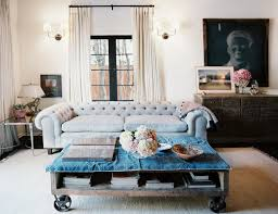 long tufted sofa furnitures minimalist living room with gray sofa and modern
