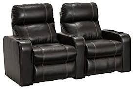 amazon com lane dynasty black bonded leather home theater seating