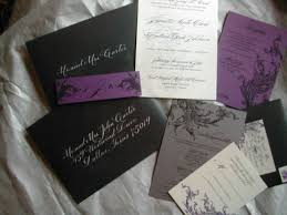 purple and silver wedding invitations wedding ideas 17 silver and purple wedding invitations picture