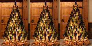 where can i find a brown christmas tree wine bottle christmas trees how to decorate your tree with wine