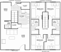2 story home floor plans four bedroom floor plans unique 4 2 story home house with bedrooms