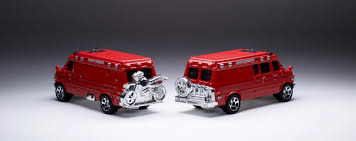 custom volkswagen bus the 2017 matchbox u002795 custom chevy van already has a nickname