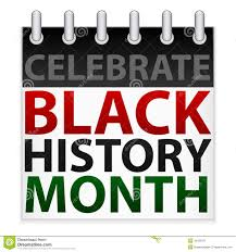celebrate black history month icon stock vector illustration of