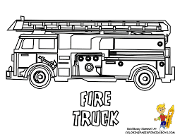 firefighter coloring pages toddl art gallery fire truck
