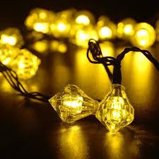 Christmas Lights Solar Powered by Diamond Fairy String Lights Solar Powered U2013 Light For The Night