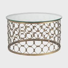 Artistic Coffee Steel Drum Coffee Table Table Designs