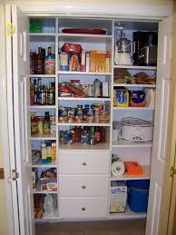 Kitchen Pantry Design Plans Closet Pantry Design Ideas