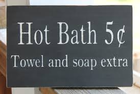 Decorative Signs For Home by Decorative Bathroom Sign