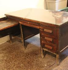 Antique Secretary Desk Value by Vintage Teacher U0027s Desk Ebth