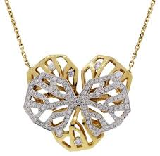 tone gold necklace images Cartier white yellow caresse d 39 orchidees 18k two tone gold jpg