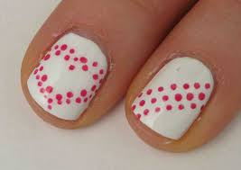 easy valentine u0027s day nail art designs a really simple yet cute
