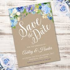 save the date invitation floral save the date invitation template edit with adobe