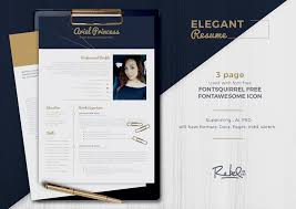 Professional Fonts For Resume 50 Best Resume Templates For Word That Look Like Photoshop Designs