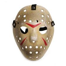 Jason Mask Halloween Kids Costume Cosplay Horror Party Accessory Hockey Mask