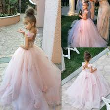 discount simple elegant flower girls dresses 2017 simple elegant