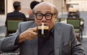 nespresso commercial female actress george clooney takes danny devito under his wing for nespresso s us