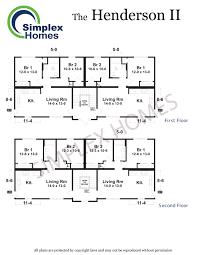 cornerstone henderson ii fourplex modular home