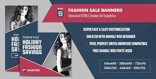 designer fashion sale fashion sale banners html5 animated gwd by infiniweb codecanyon