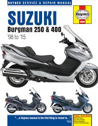 haynes 4909 service repair owners manual suzuki burgman 250 400