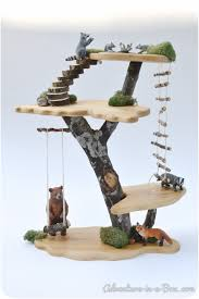 diy project how to make a toy tree house fairy tree houses