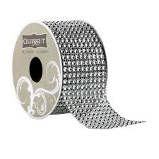 bling ribbon 48mm mesh 10 row bling ribbon by celebrate it occasions
