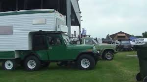 jeep kayak trailer ultra rare jeep factory cj5 camper 4x6 turbo diesel younto