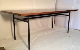 furniture furniture simple minimalist desk with iron legs and