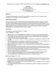 Sample Resume Marketing Executive by Marketing Sample Resume Jennywashere Com