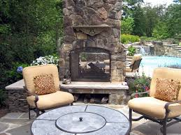 favorite double sided outdoor fireplace with 12 design pictures