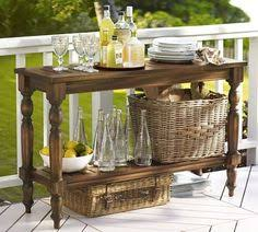 spring dessert buffet for an outdoor party potting tables