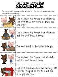 lots 3 pigs activities enchanted learning reading
