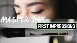 maybelline master ink impressions