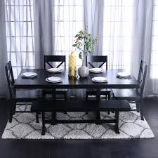 the kitchen furniture company walker edison furniture company millwright 6 black dining