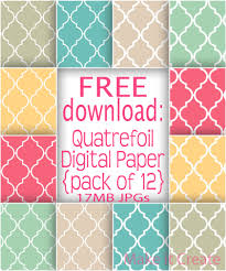 quatrefoil wrapping paper the find s make it create diy tutorials recipes