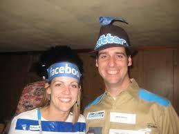 the social media couple costume