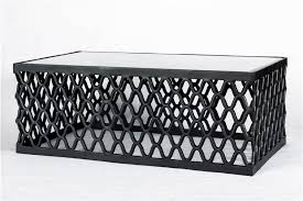 tabe top and chair trellis coffee table