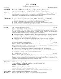human resource management resume examples carbon consultant cover letter renewable